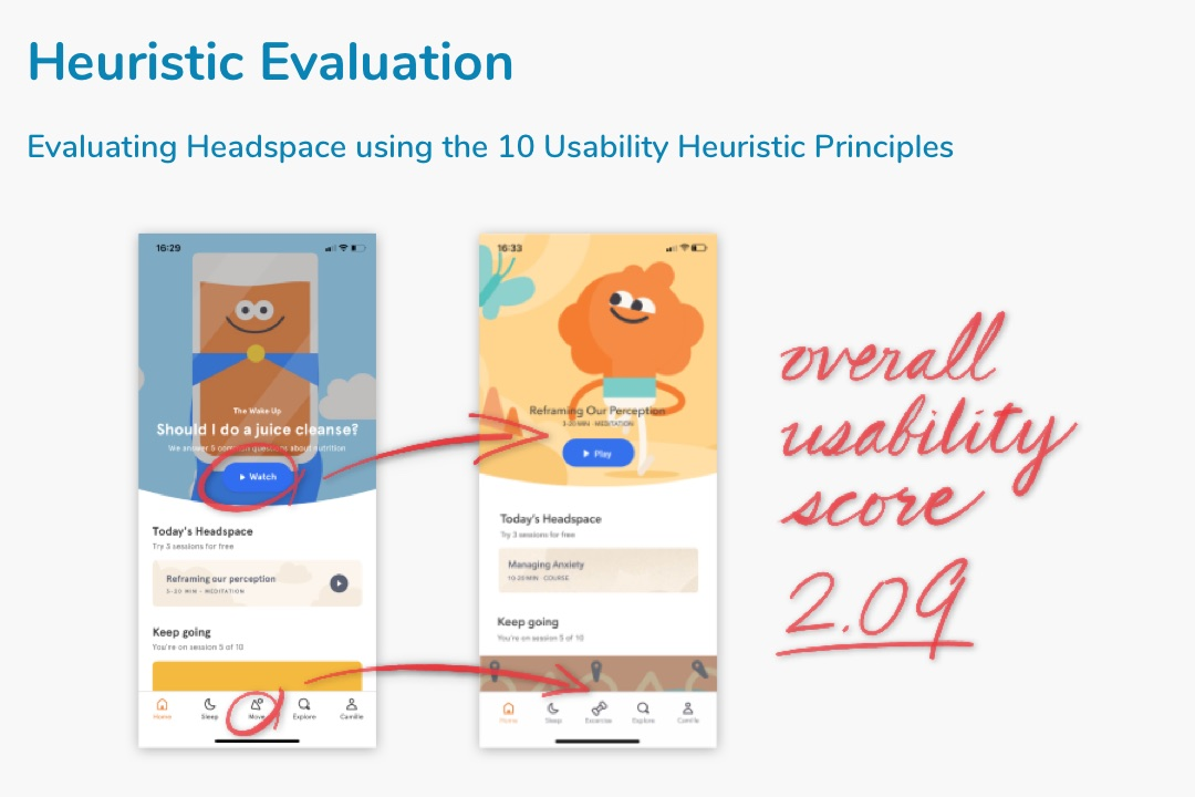 Heuristic Evaluation: Headspace